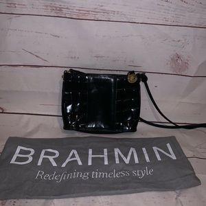 Brahmin cross body with dust bag🖤